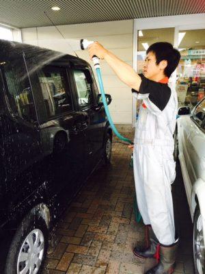 はせたく洗車